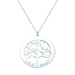 Merci Maman Women's Personalised Tree of Life Necklace From £69.00