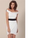Jessica Wright Collection Aimee Scalloped Hem Party Dress £65.00
