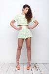 Kendelle Lime & Lace Two-Piece Set £65.00