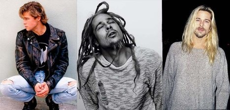 Brad Pitt 90s Grunge Icon