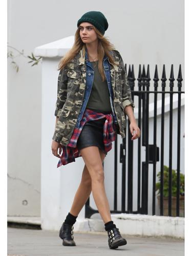 Cara Delevingne is a Grunge Fashion-ista