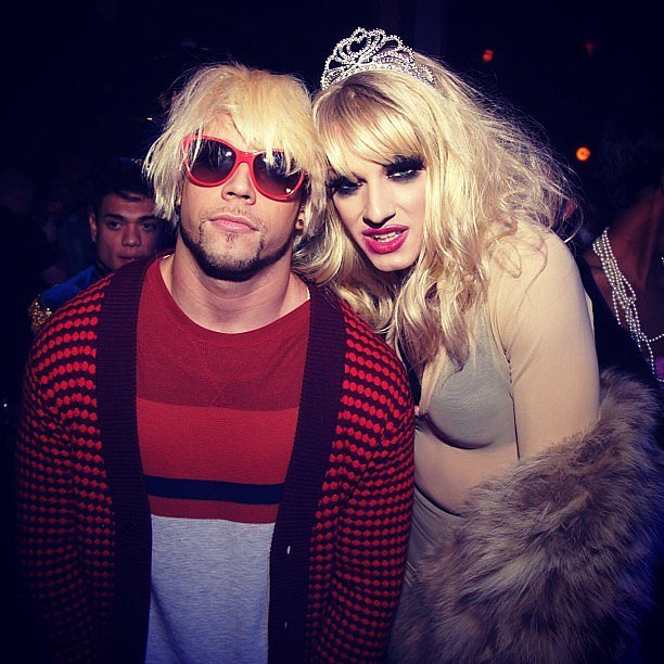 Kurt Cobain and Courtney Love : Grunge Fashion Icons