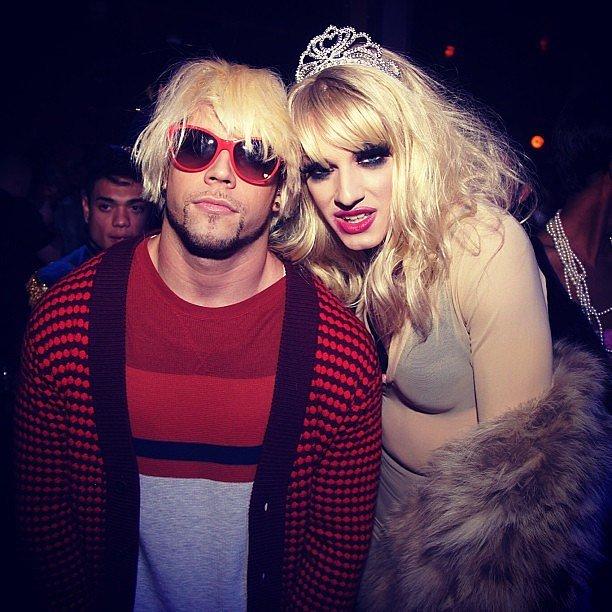 Kurt Cobain and Courtney Love : Grunge Fashion Icons